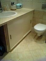 έπιπλο μπάνιου λάκα
