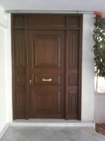πορτα εξωτερική αμπούρα